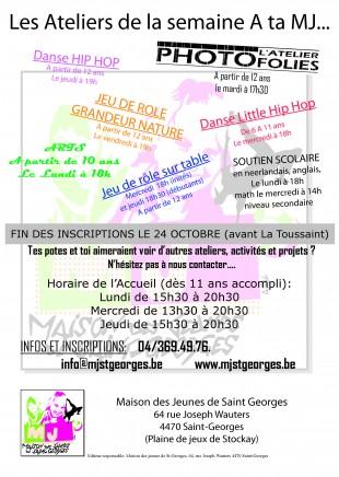 Affiche_ateliers MJ 2014
