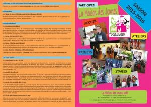 Brochure rentrée 2015 Pages 1-4