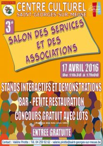 Affiche Salon Associations 17 avril 2016